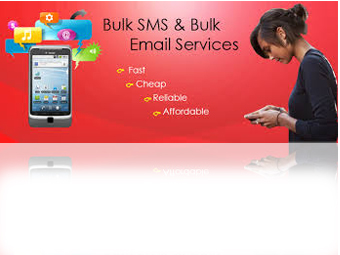 bulk email and sms