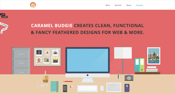 Perfectly Flat Web Design