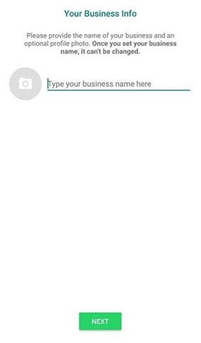 WhatsApp Business Registration