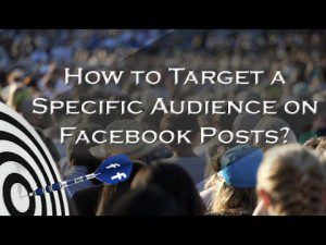 How to Target Specific Audience on Facebook Posts 300x225